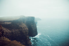 Cliffs of Moher. View of the cliffs of moher in Ireland Stock Photography
