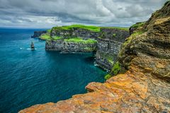 The Cliffs of Moher Stock Images