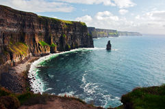Cliffs of moher west coast ireland Royalty Free Stock Photo