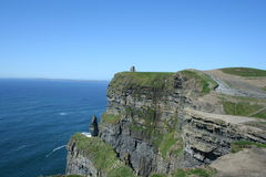 Cliffs of Mohr. In Ireland Stock Photography