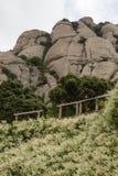 The Cliffs of Montserrat Royalty Free Stock Photo