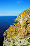 Cliffs on the Mull of Galloway royalty free stock images