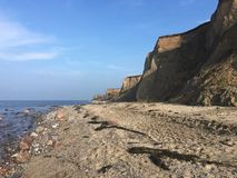 Cliffs Near Heiligenhafen Baltic Sea Royalty Free Stock Photography