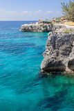 Cliffs in Negril Stock Photos