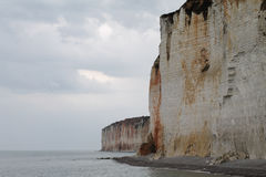 Cliffs of Normandy Royalty Free Stock Images