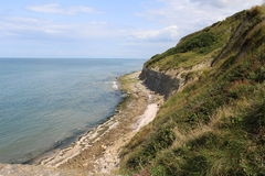 Cliffs of Normandy in France Royalty Free Stock Image