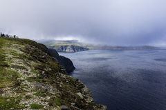 Cliffs of North Cape Royalty Free Stock Photography