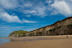 Cliffs on the North  sea Stock Images