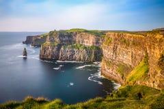 Free Cliffs Of Moher Ireland Sunset Sun Light Irish Landmark Amazing Stock Photo - 161312500