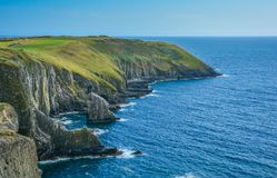 Cliffs at Old Head, County Cork, Ireland royalty free stock image