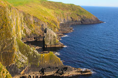 Cliffs of Old Head of Kinsale Royalty Free Stock Images