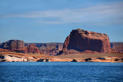 Cliffs over Lake Powell Royalty Free Stock Photography