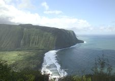 Cliffs over the ocean Stock Photography