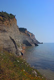 Cliffs over the sea Royalty Free Stock Images