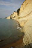 Cliffs of Peroulades (Corfu, Greece) Stock Image