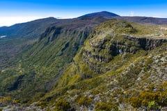 Cliffs, Piton de La Fournaise, Reunion Island. Cliffs, Piton de La Fournaise at Reunion Island Royalty Free Stock Image