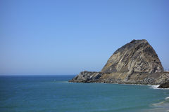 Cliffs at Point Mugu, CA Royalty Free Stock Images