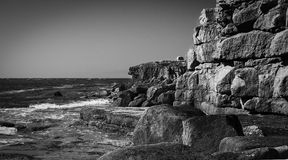Cliffs at Portland Royalty Free Stock Photography