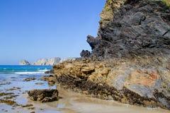 Cliffs of Presqu'ile de Crozon Royalty Free Stock Photos