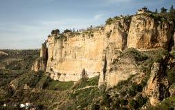 Cliffs of ronda Royalty Free Stock Photos