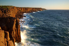 Cliffs of S.Antioco Island Royalty Free Stock Image