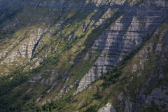 Cliffs in the Salto del Nervion Royalty Free Stock Photography