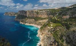 Cliffs and sea Royalty Free Stock Images