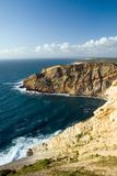 Cliffs by the sea Royalty Free Stock Photo