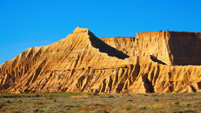 Cliffs at semi-desert landscape Royalty Free Stock Images