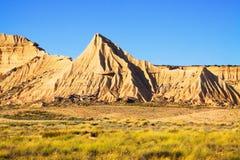 Cliffs at semi-desert landscape Royalty Free Stock Photos