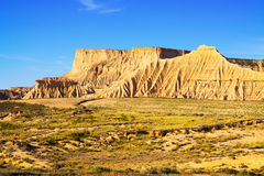 Cliffs at semi-desert landscape Stock Image