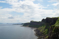 Cliffs of skye. Cliffs from a viewpoint on the Isle of Skye Stock Image