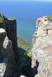 Cliffs at Sleeping Giant Provincial Park Royalty Free Stock Photo