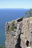 Cliffs at Sleeping Giant Provincial Park Stock Photo