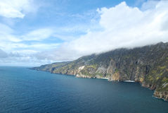 Cliffs of Slieve league Stock Image