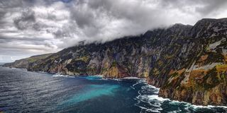 Cliffs of Slieve League Stock Photos
