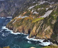 Cliffs of Slieve League Stock Photo