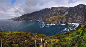 Cliffs of Slieve League Royalty Free Stock Photos