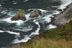 The cliffs of Slieve League Stock Photo