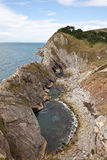 Cliffs at the south coast of England Royalty Free Stock Photography