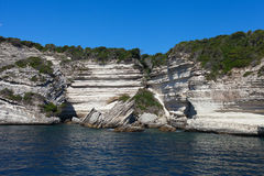 Cliffs of south Corsica, France. Royalty Free Stock Images