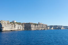 Cliffs of south Corsica, France. Royalty Free Stock Photography