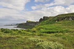 Cliffs south of Kilt Rock Stock Image