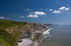 Cliffs of Southerndown Stock Photography