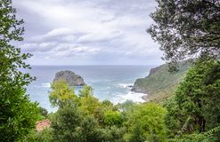 Cliffs in Spain Stock Photography