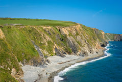Cliffs on sunny day , Ireland Royalty Free Stock Photo