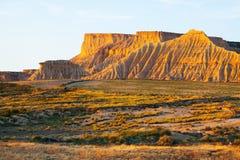 Cliffs in sunny morning.  Navarra, Spain Stock Photo