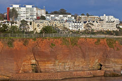 Cliffs at Torquay Royalty Free Stock Photography