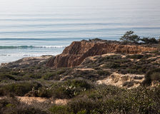 The Cliffs of Torrey Pines Stock Images
