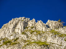 Cliffs in the vercors area in the alps Royalty Free Stock Photography